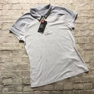 NEW Under Armour Fitted Golf Athletic Tee!